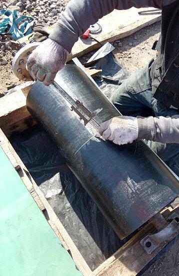 Футеровка барабана конвейера в России
