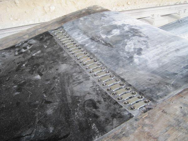Стыковое соединение 190E 140E 1E Flexco Bolt Solid Plate